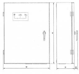 Automatika el. generatoriams KPA0075-3A-24V