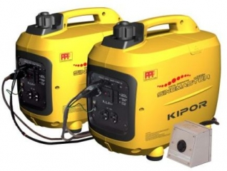KIPOR IG2000P (2+2 kW; 2 vnt.)