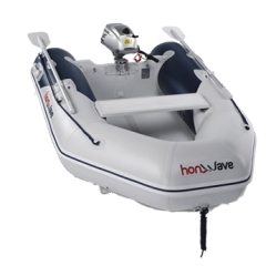 Pripučiama valtis su pripučiamu dugnu Honda T 24 IE 2
