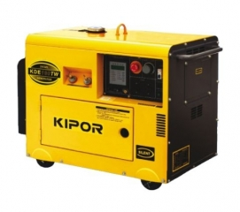 Suvirinimo generatorius KIPOR KDE180TW (2.8 kW)