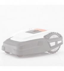 Spalvotas gaubtas Robolinho® 1100 (Baltas)