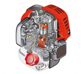 DOLMAR benzininis vandens siurblys MP - 352.4 Z (130 l/min.; 1.2 kW)