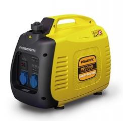 Invertorinis tyliaeigis elektros generatorius Powerac PR2000i (2.0 kW)