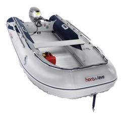 Pripučiama valtis su aliuminio dugnu Honda T40 AE 2