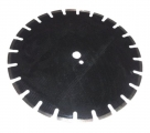 Deimantinis pjovimo diskas KTAS400 (400 mm; 25.4 mm)
