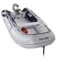 Pripučiama valtis su aliuminio dugnu Honda T35 AE 2