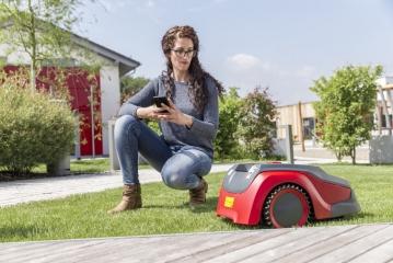 Vejos robotas solo by AL-KO Robolinho® 700 W  (22 cm) 2020 m. modelis